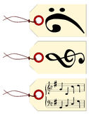 Music Tags Royalty Free Stock Photo