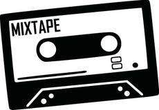 Music Tape music. Music Tape instrument music vector stock illustration