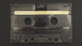 Music tape zoom in stock footage