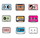 Music Tapes icon. Vector illustration Royalty Free Stock Photography