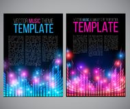 Music tepmplate Royalty Free Stock Photo