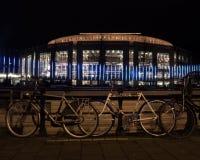 Music theatre at Amsterdam Light Festival Stock Image