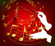 Music theme. This image is a vector illustration and can be scaled to any size without loss of resolution. This image will download as a .eps file. You will need Stock Image