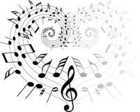 Music theme vector illustration
