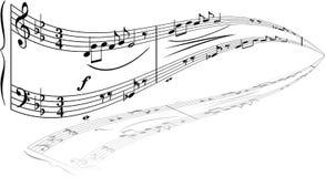 Music theme Stock Image