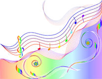 Music theme stock illustration