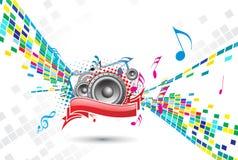 music theme 免版税库存照片