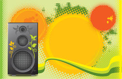 Music theme background. Or flyer Stock Photo