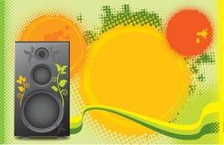 Music theme background Stock Photo
