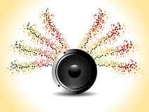 Music theme for more background Royalty Free Stock Photography