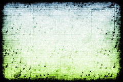 Music Themed Abstract Grunge Background Stock Images