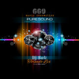 Music Themed background  for Disco Club Flyers Royalty Free Stock Image