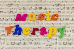 Music therapy group happy musical sound leisure musician rhythm