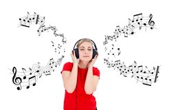 Music time Stock Photography