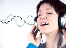 Music time Stock Images
