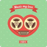 Music To My Love Stock Image