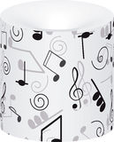 Music. Treble clef and notes for your design. Stock Photography