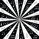 Music. Treble clef and notes for your design Royalty Free Stock Photography