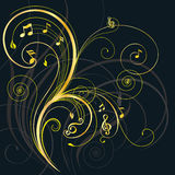 Music Tree royalty free illustration