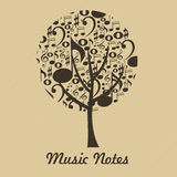 Music tree Stock Images