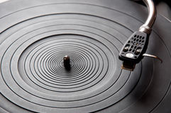 Music turntable Royalty Free Stock Image