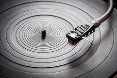 Music turntable Royalty Free Stock Photography