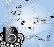 Music under water Royalty Free Stock Photos