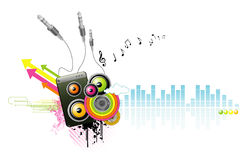 Music vector Royalty Free Stock Photo