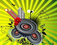 Music vector Royalty Free Stock Photos
