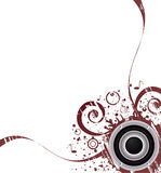 Music vector background Royalty Free Stock Photography