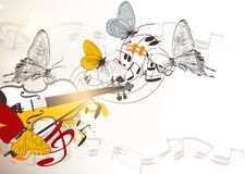 Music vector background Royalty Free Stock Image