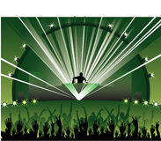 Music vector composition. Abstract sound music vector composition Stock Photography