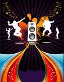 Music vector composition Royalty Free Stock Photos