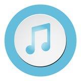 Music vector icon Stock Photo