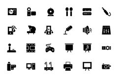 Music Vector Icons 4 Stock Photography