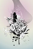 Music vector illustration Royalty Free Stock Images