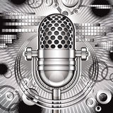 Music vector illustration. Royalty Free Stock Photography
