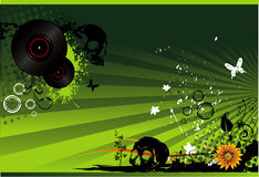 Music vector illustration Royalty Free Stock Photo
