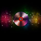 Music Vinyl Disco Background Royalty Free Stock Images