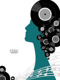 Music Vinyl Poster Royalty Free Stock Image