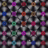 Music Vinyls Stock Images