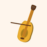 Music violin theme elements vector,eps. Vector illustration file Royalty Free Stock Images