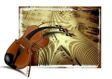 Music, Violin, Treble Clef, Sound Royalty Free Stock Photo
