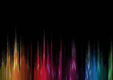 Music volume equalizer computer  technology concept business bac Royalty Free Stock Photography