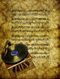 Music wallpaper Royalty Free Stock Image