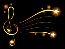 Music wallpaper Royalty Free Stock Photography