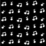 Music wallpaper great for any use. Vector EPS10. Stock Image