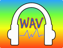 Music WAVE Stock Image