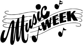 Music Week Royalty Free Stock Photo
