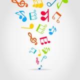 Music wind Stock Image